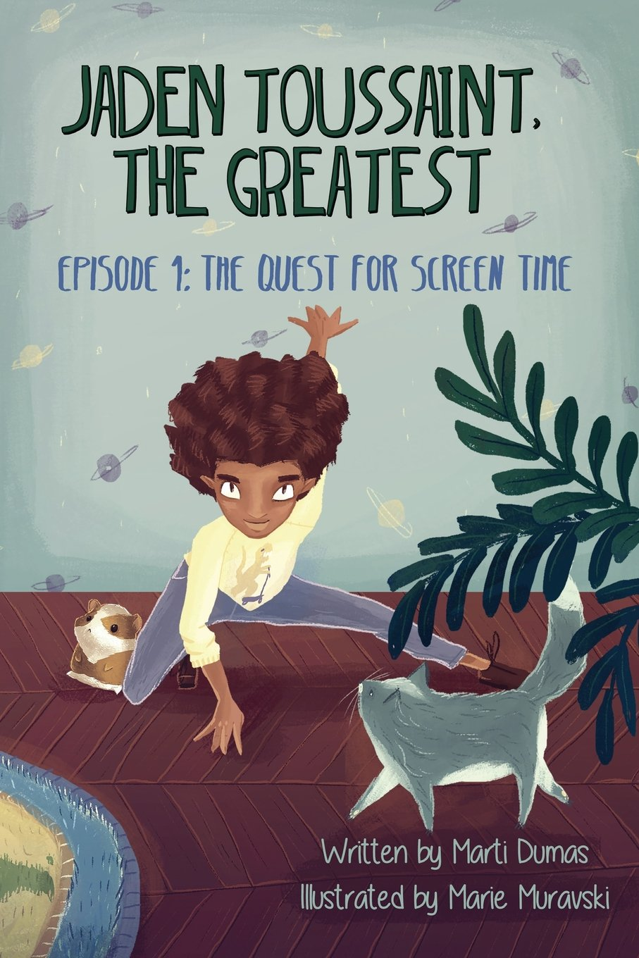 Jaden Toussaint, the Greatest Episode 1: The Quest for Screen Time - Dumas Marti