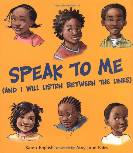 Speak to Me: (And I Will Listen Between the Lines) – Karen English