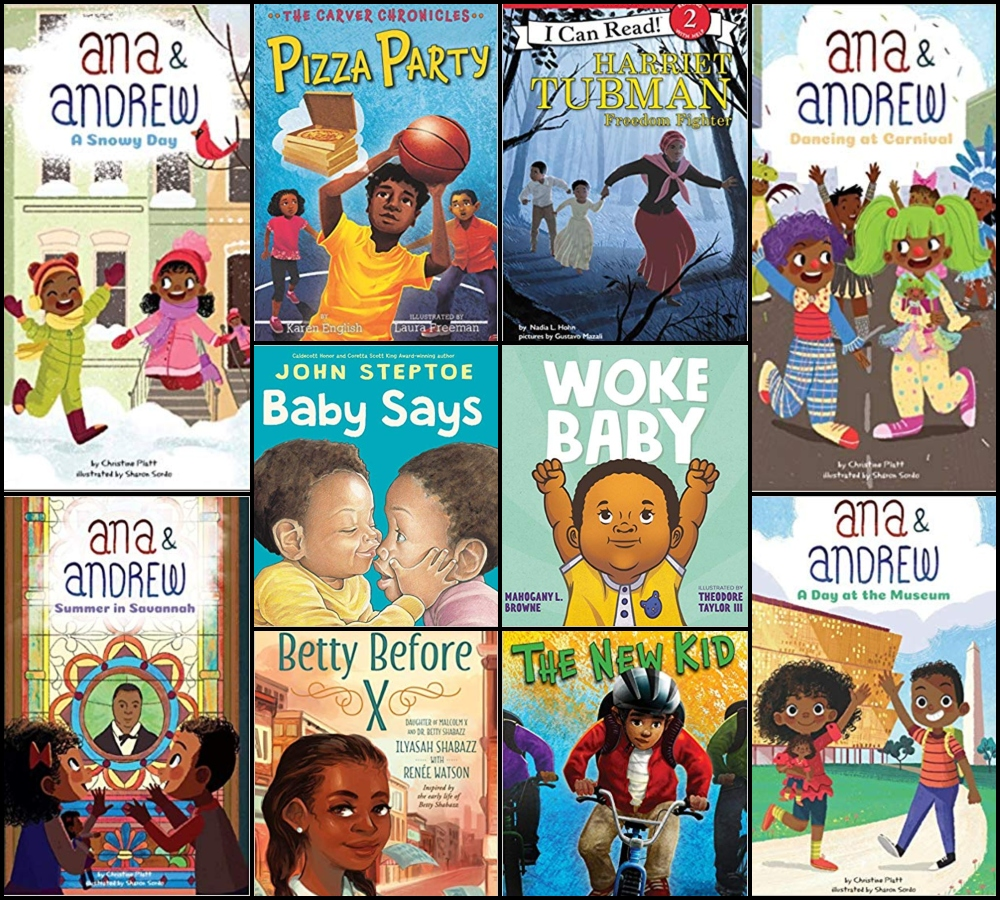 December 2018 New Releases | Black Children's Books and Authors
